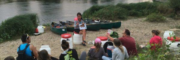 A pied ou en canoë, pendant tout l'été, venez découvrir le castor !