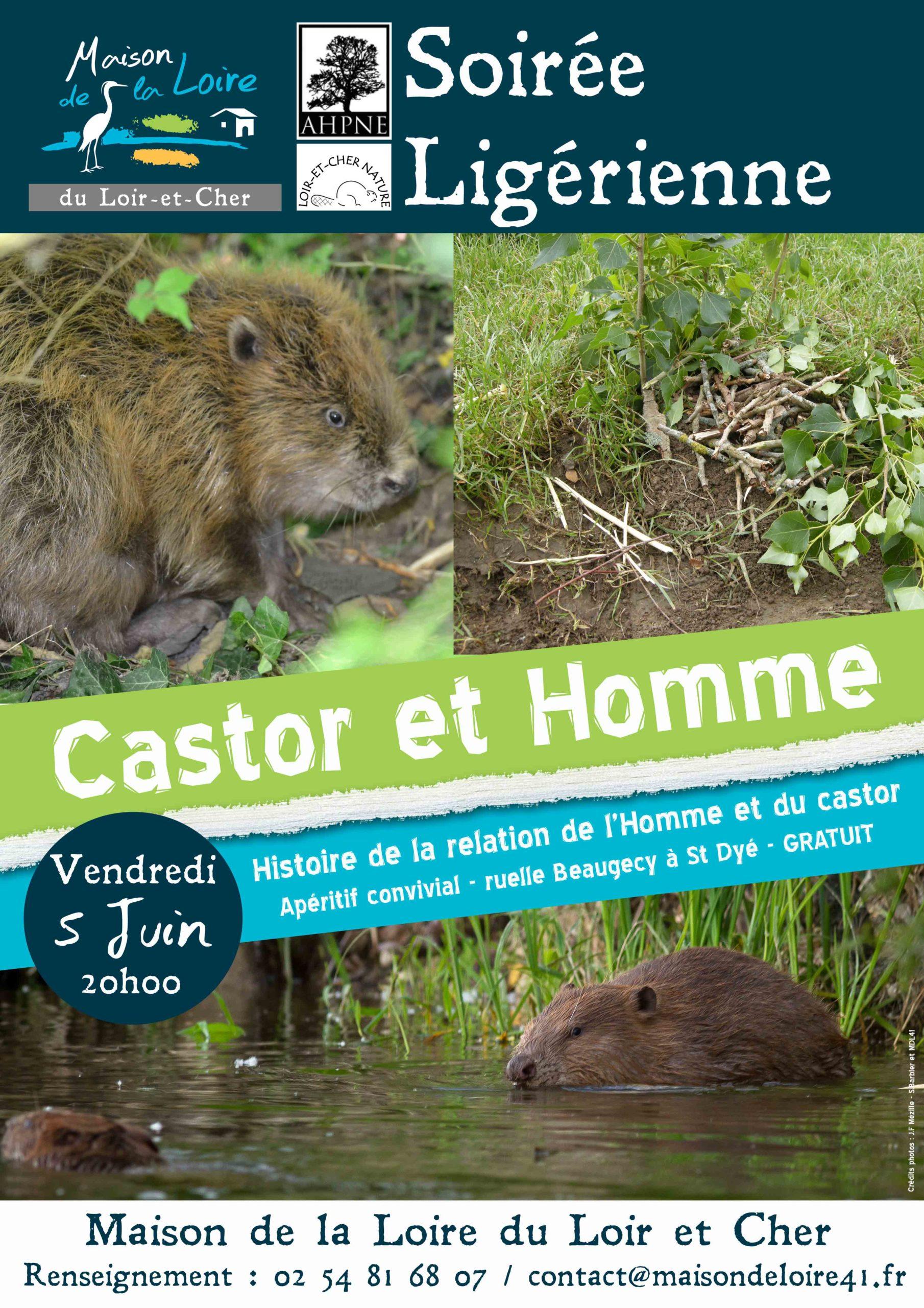 Vendredi 5 juin 2015, Soirée Ligérienne : Castor et Homme