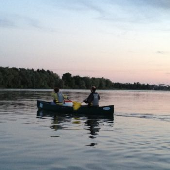 Tous les vendredis : descente en canoë au crépuscule