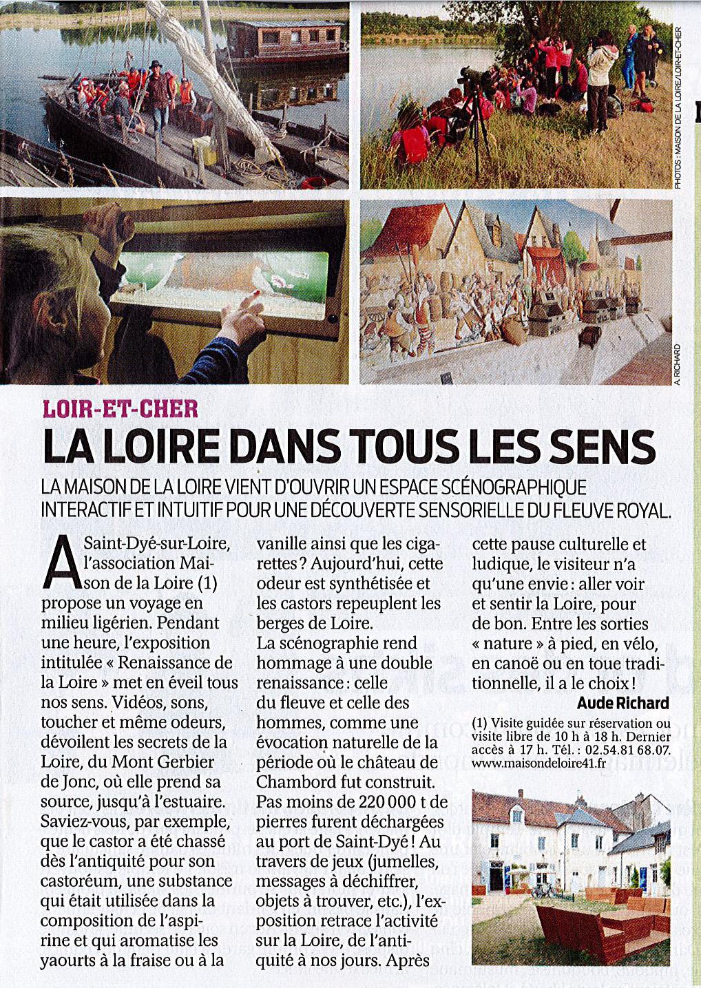 article - maison-de-la-loire 41 france agricole 2015