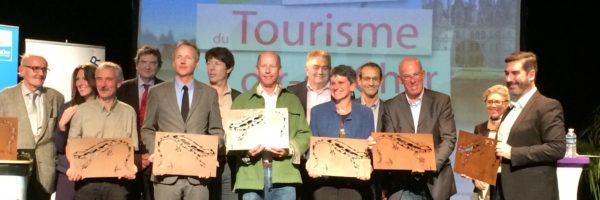 La Maison de la Loire du Loir et Cher remporte les TOPS du Tourisme 2015, catégorie Top Famille