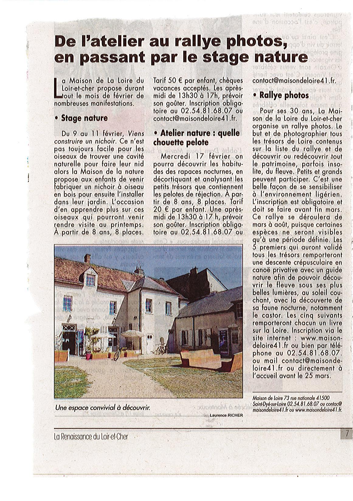 article renaissance janvier 2016