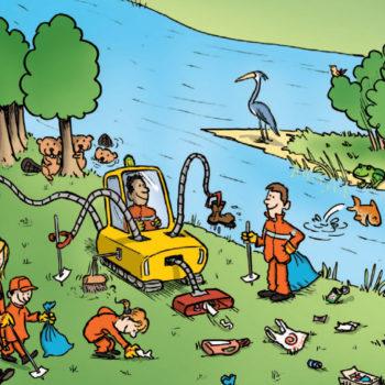 16 et 17 mars 2018 : Agissons pour une Loire propre !