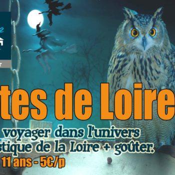Samedi 31 octobre : voyage dans l'univers des contes de Loire